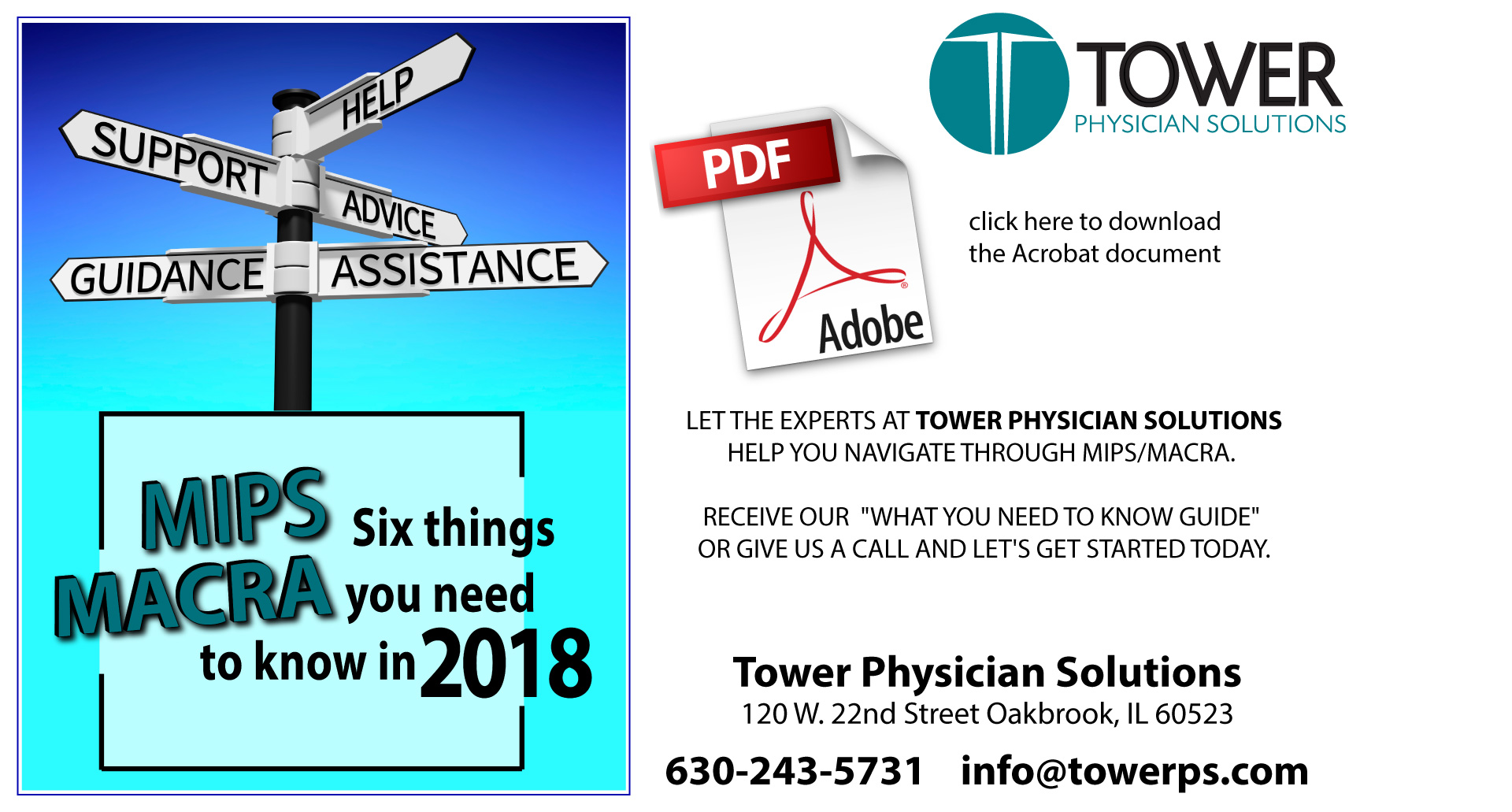Tower Physician Solutions Nephrology Medical Practice Management MIPS MACRA2017