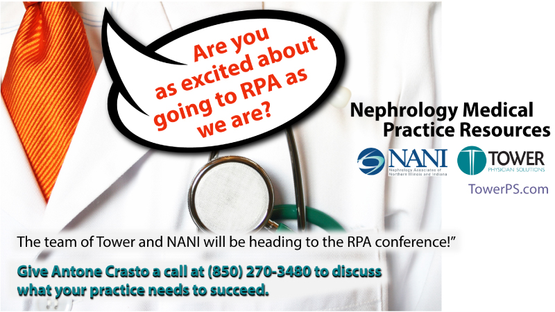 RPA Conference Tower Physician Solutions Nephrology Medical Practice Management MIPS MACRA2017